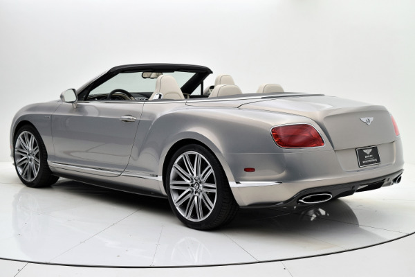 Used 2014 Bentley Continental GT Speed Convertible for sale Sold at F.C. Kerbeck Lamborghini Palmyra N.J. in Palmyra NJ 08065 4