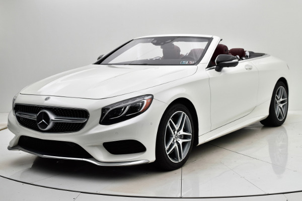 Used 2017 Mercedes-Benz S-Class S 550 Cabriolet for sale Sold at F.C. Kerbeck Lamborghini Palmyra N.J. in Palmyra NJ 08065 2