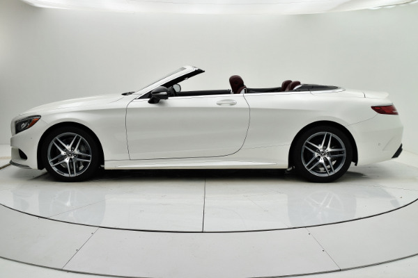 Used 2017 Mercedes-Benz S-Class S 550 Cabriolet for sale Sold at F.C. Kerbeck Lamborghini Palmyra N.J. in Palmyra NJ 08065 3