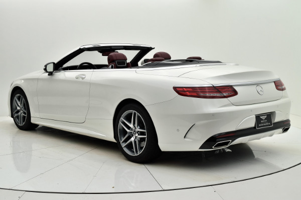 Used 2017 Mercedes-Benz S-Class S 550 Cabriolet for sale Sold at F.C. Kerbeck Lamborghini Palmyra N.J. in Palmyra NJ 08065 4