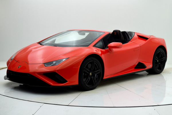 New New 2021 Lamborghini Huracan EVO RWD Spyder for sale $271,473 at F.C. Kerbeck Lamborghini Palmyra N.J. in Palmyra NJ