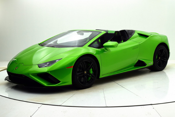 New New 2021 Lamborghini Huracan EVO RWD Spyder for sale $276,773 at F.C. Kerbeck Lamborghini Palmyra N.J. in Palmyra NJ