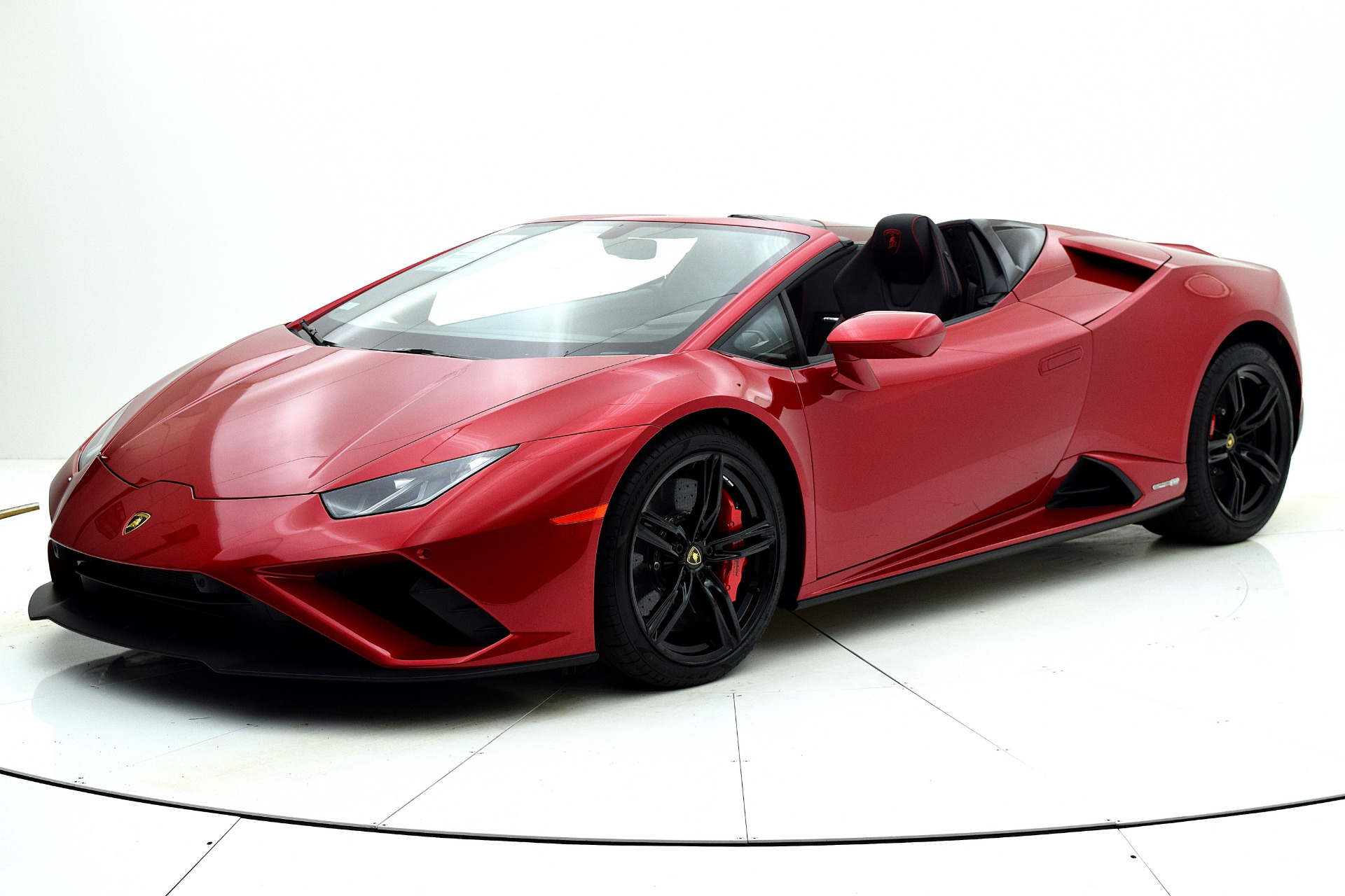 New 2021 Lamborghini Huracan EVO RWD Spyder for sale Sold at F.C. Kerbeck Lamborghini Palmyra N.J. in Palmyra NJ 08065 2