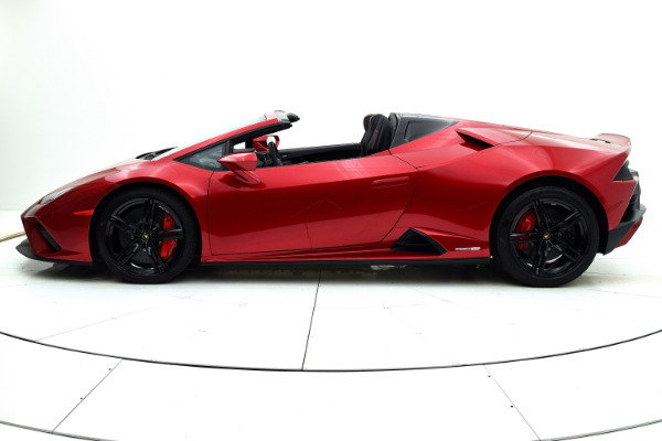 New 2021 Lamborghini Huracan EVO RWD Spyder for sale Sold at F.C. Kerbeck Lamborghini Palmyra N.J. in Palmyra NJ 08065 3