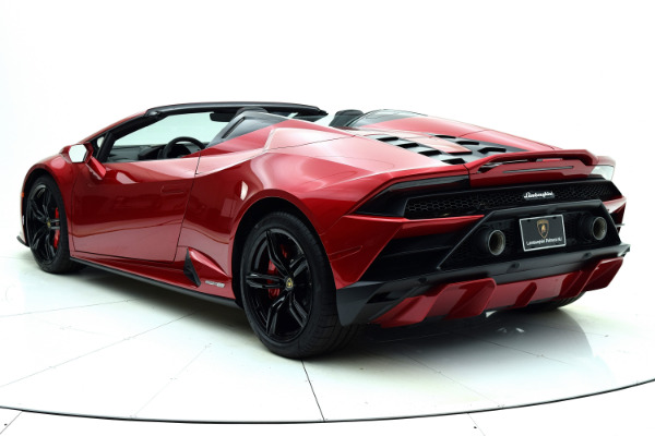 New 2021 Lamborghini Huracan EVO RWD Spyder for sale Sold at F.C. Kerbeck Lamborghini Palmyra N.J. in Palmyra NJ 08065 4