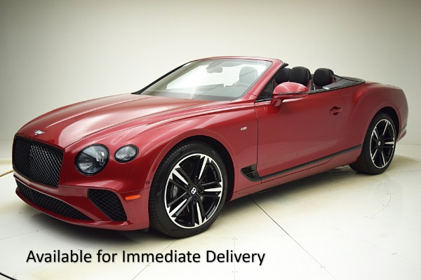 Used Used 2021 Bentley Continental GT V8 Convertible for sale $284,520 at F.C. Kerbeck Lamborghini Palmyra N.J. in Palmyra NJ