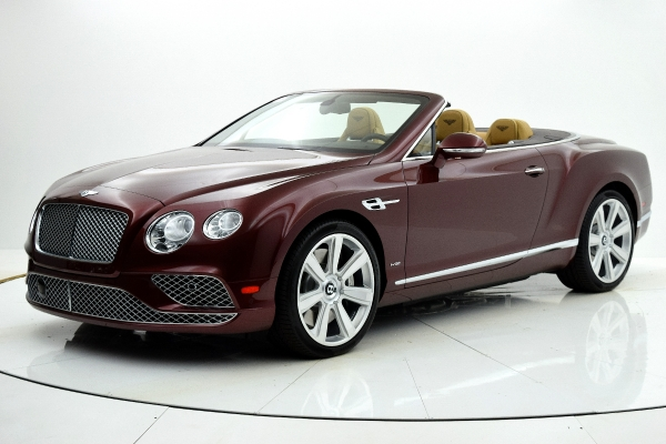 Used 2016 Bentley Continental GT W12 Convertible for sale $139,880 at F.C. Kerbeck Lamborghini Palmyra N.J. in Palmyra NJ 08065 2