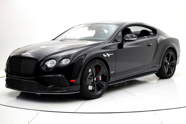 Used 2017 Bentley Continental GT Speed Coupe for sale Sold at F.C. Kerbeck Lamborghini Palmyra N.J. in Palmyra NJ 08065 2