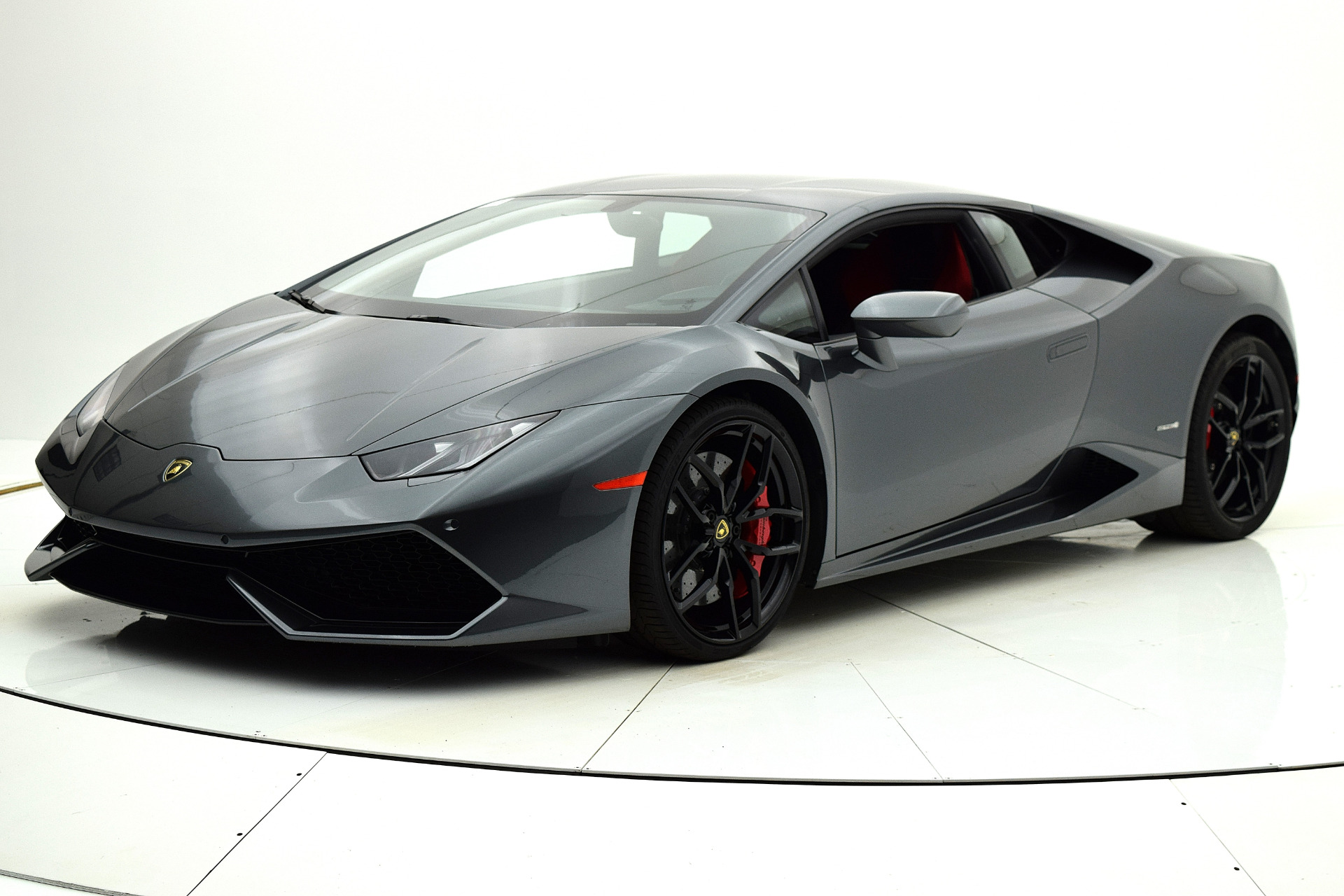 Used 2015 Lamborghini Huracan LP610-4 for sale Sold at F.C. Kerbeck Lamborghini Palmyra N.J. in Palmyra NJ 08065 2