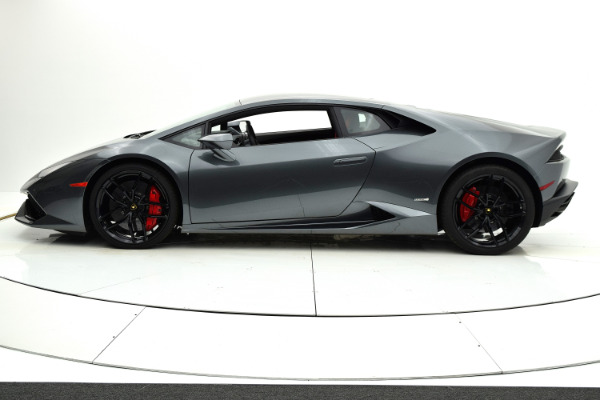 Used 2015 Lamborghini Huracan LP610-4 for sale Sold at F.C. Kerbeck Lamborghini Palmyra N.J. in Palmyra NJ 08065 3