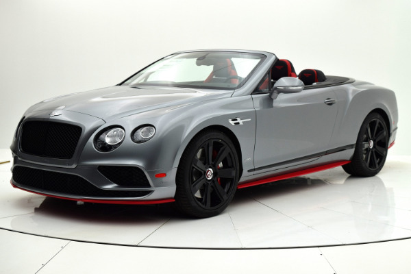 Used 2017 Bentley Continental GT V8 S Convertible Black Edition for sale Sold at F.C. Kerbeck Lamborghini Palmyra N.J. in Palmyra NJ 08065 2