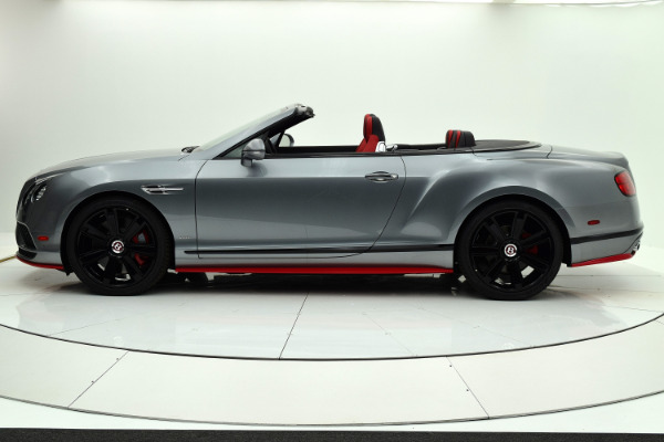 Used 2017 Bentley Continental GT V8 S Convertible Black Edition for sale Sold at F.C. Kerbeck Lamborghini Palmyra N.J. in Palmyra NJ 08065 3