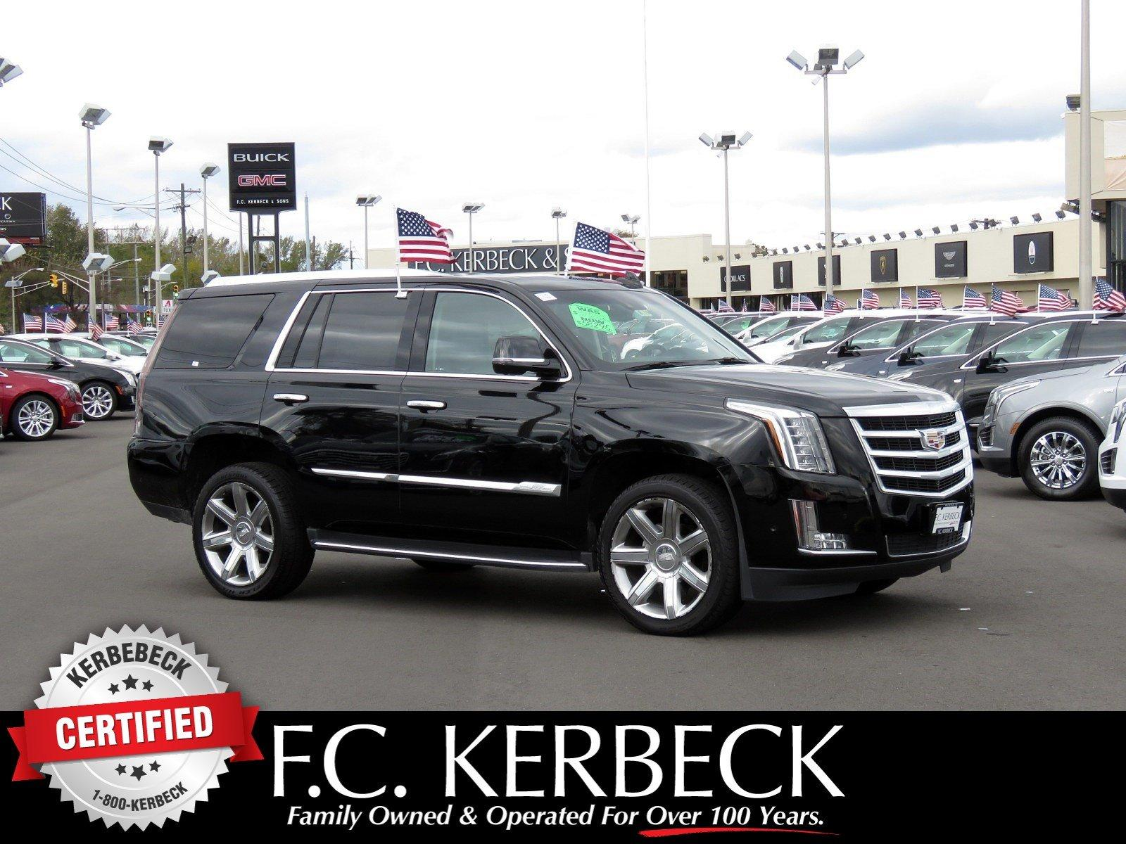 Used 2018 Cadillac Escalade Luxury for sale Sold at F.C. Kerbeck Lamborghini Palmyra N.J. in Palmyra NJ 08065 1