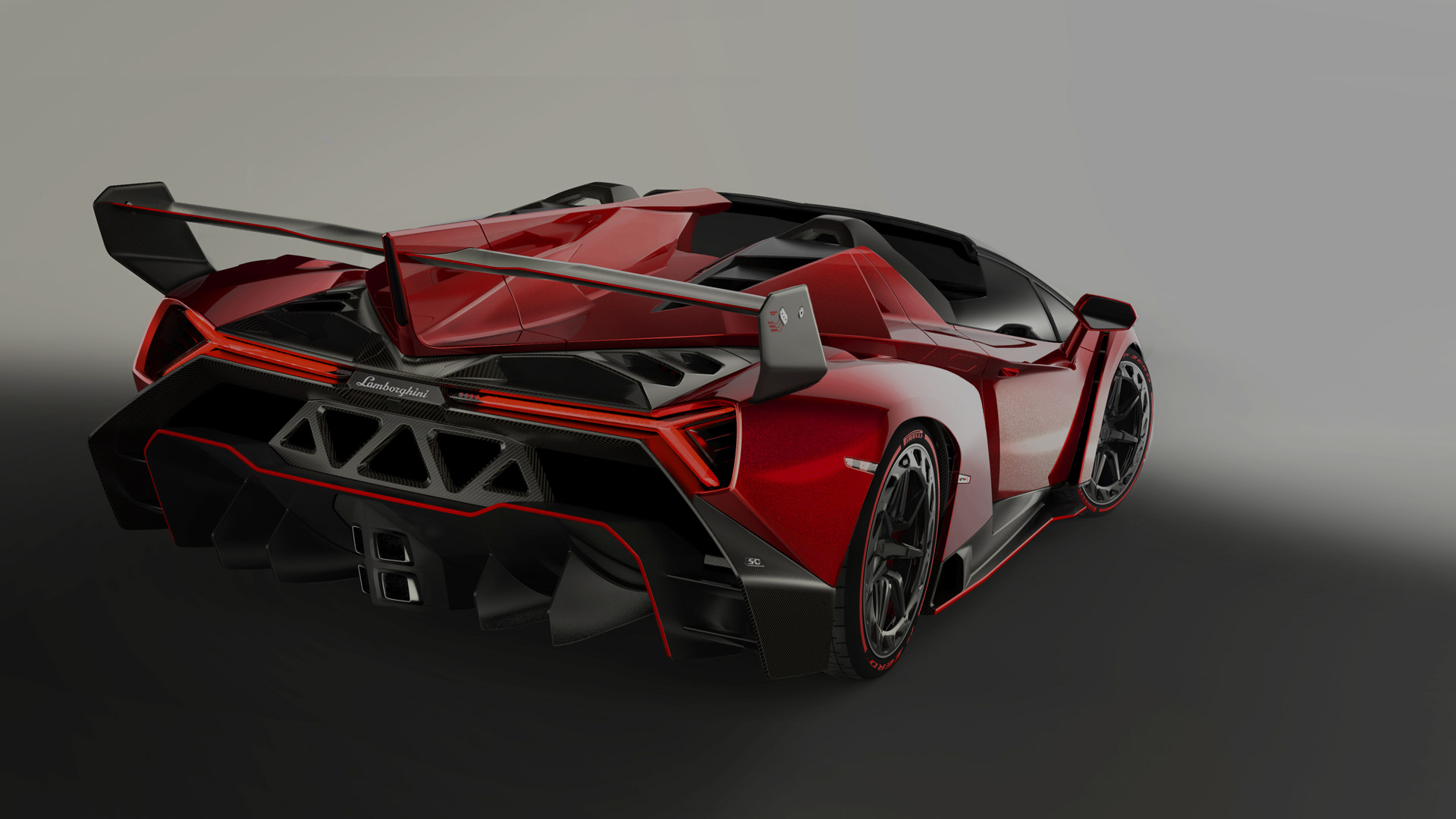 Lamborghini Veneno Roadster Model Information